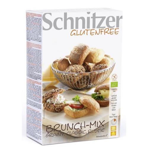 Bio Brunch Mix 8 Aufbackbrötchen glutenfrei