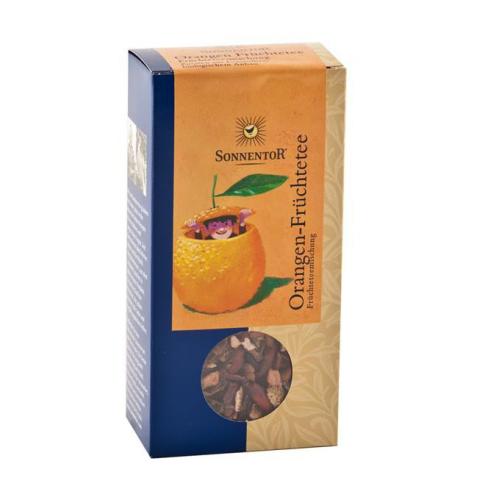 Orangen-Früchtetee