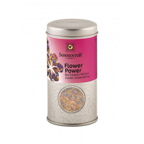 Flower Power Gewürz-Blüten-Zubereitung Streudose