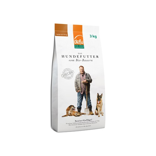 Bio Hundefutter Senior Premium trocken 3kg