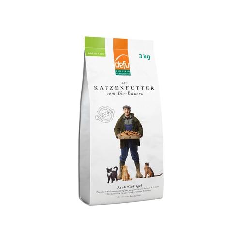 Bio Katzenfutter trocken Adult Geflügel 3kg