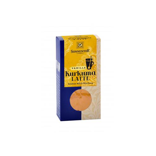 Trink-Kurkuma-Latte Vanille Packung