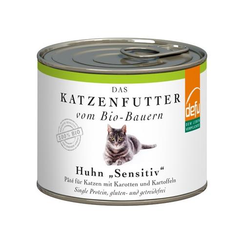Bio Katzen-Alleinfutter nass Huhn 200g