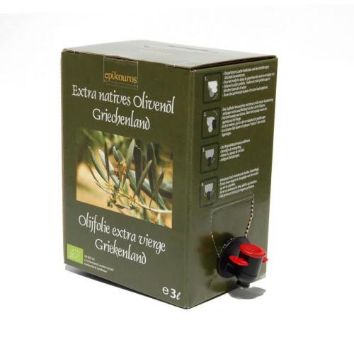 Bio Olivenöl extra nativ Griechenland Box