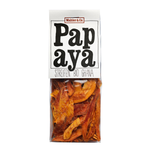 Bio Papaya Streifen
