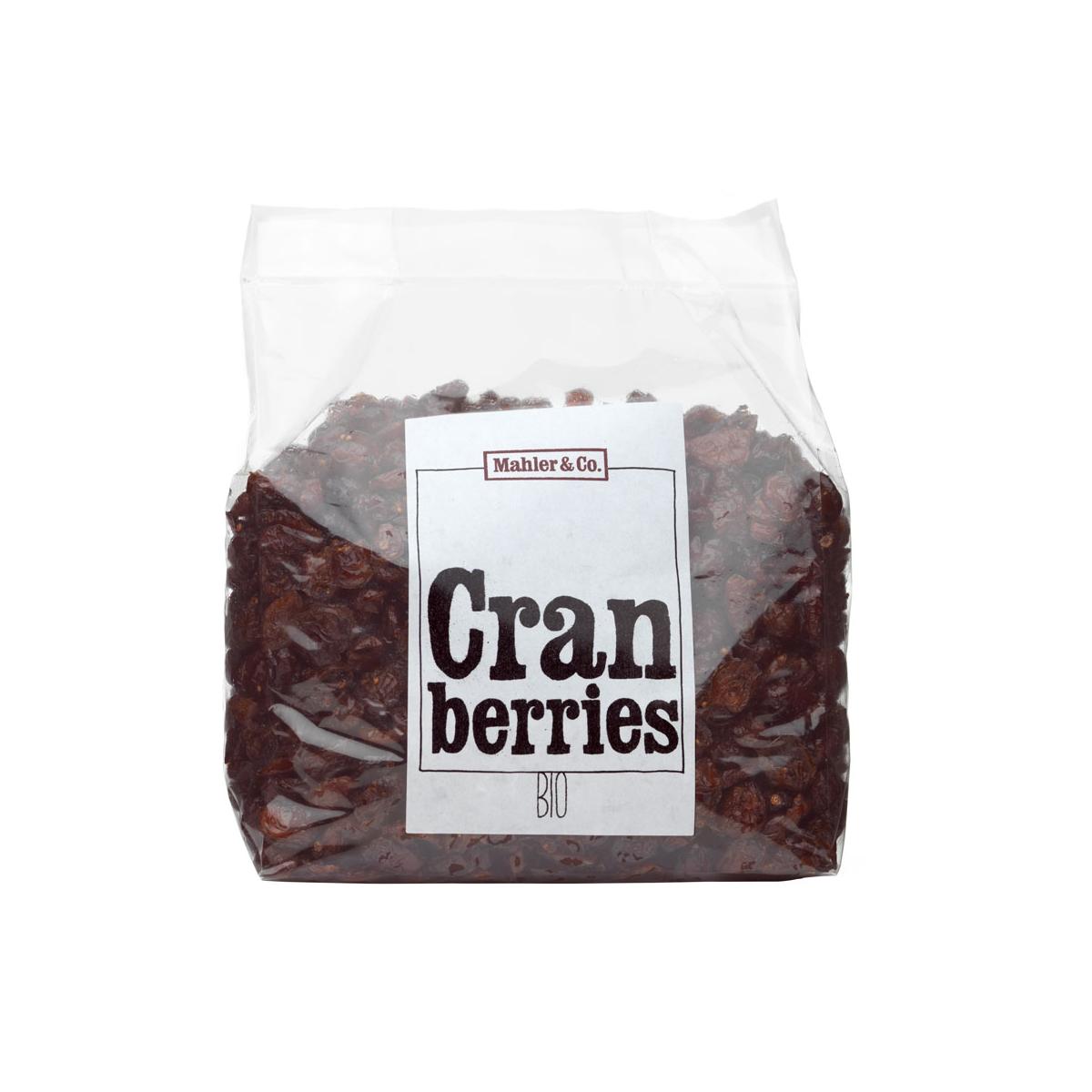 xxBio Cranberries getrocknet 1kg