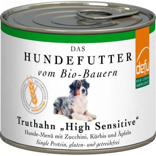 Bio Hundefutter defu High Sensitive Truthahn