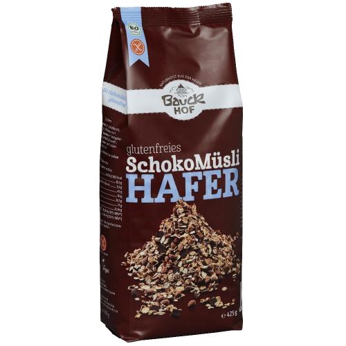 Bio Hafermüesli mit Schoko Bauck glutenfrei