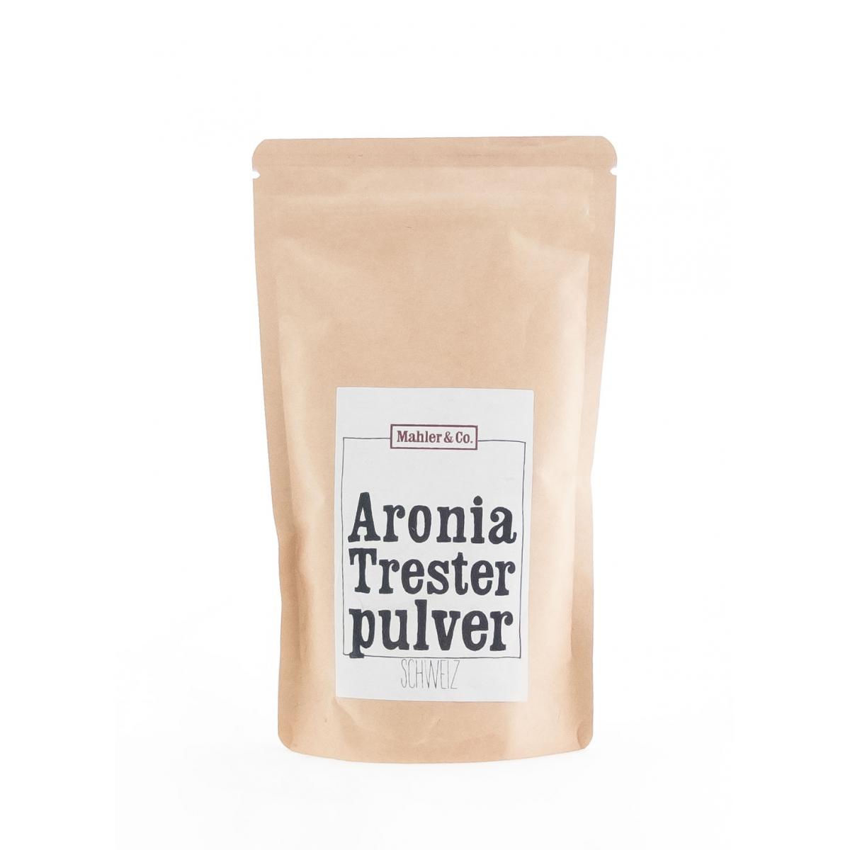 Bio Aronia Tresterpulver aus dem Aargau 200g
