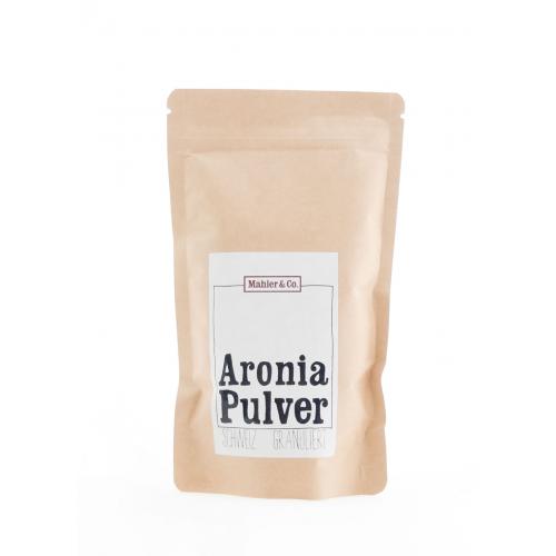 Bio Aroniapulver granuliert aus dem Aargau 200g