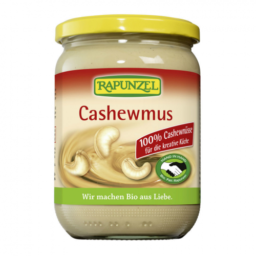 Cashewmus Glas 500 g - Rapunzel