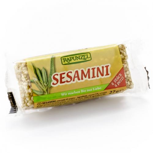 Sesamini Sesam-Krokant Stück 27 g - Rapunzel