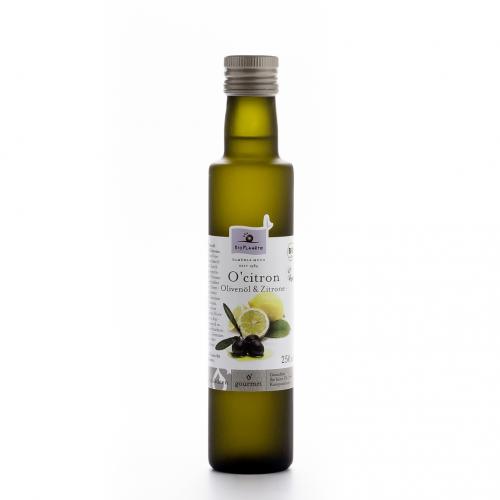 OCitron Olivenöl & Zitrone Flasche 250 ml/Glas Einweg - Bio Planète