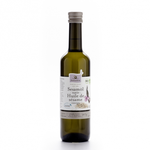 Sesamöl nativ Flasche 500 ml/Glas Einweg - Bio Planète