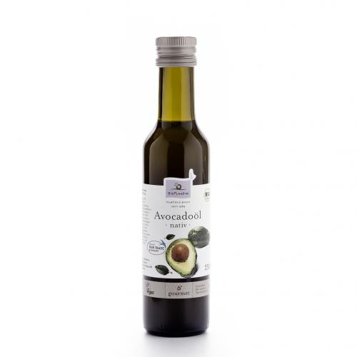 Avocadoöl nativ Flasche 250 ml/Glas Einweg - Bio Planète