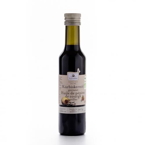 Kürbiskernöl geröstet Flasche 250 ml/Glas Einweg - Bio Planète
