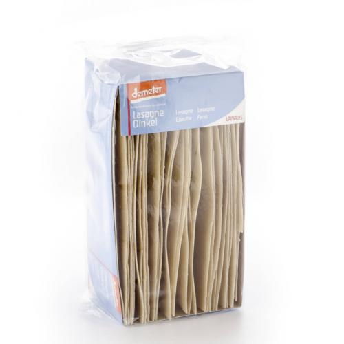 Lasagne Dinkel Schachtel 500 g - Vanadis