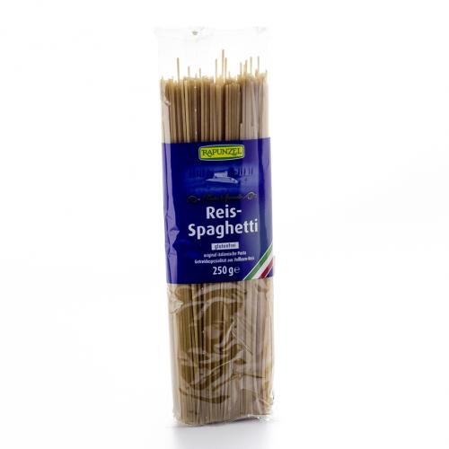 Spaghetti Reis aus Vollkornreis Beutel 250 g - Rapunzel