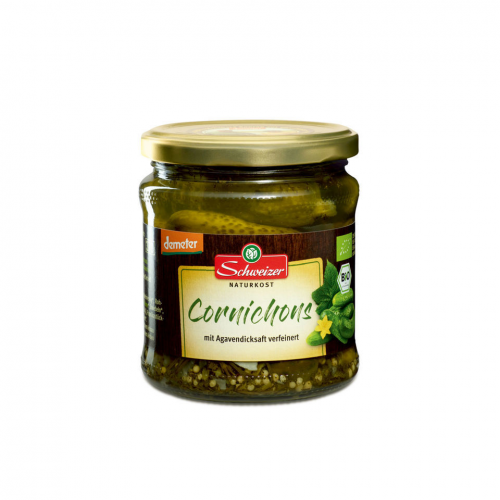 Cornichons Glas 370 ml - Schweizer