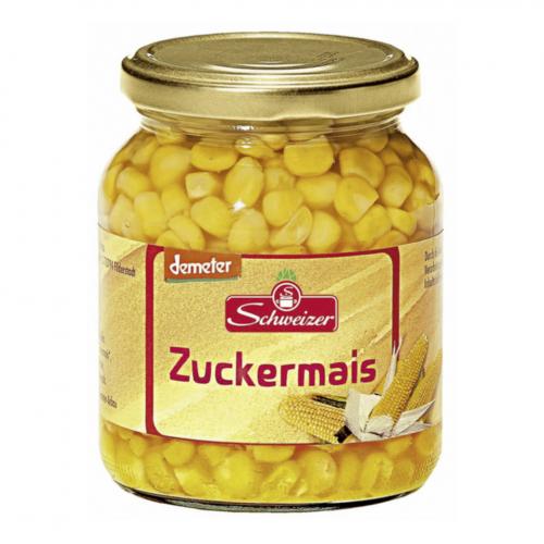 Zuckermais Glas 370 ml - Schweizer