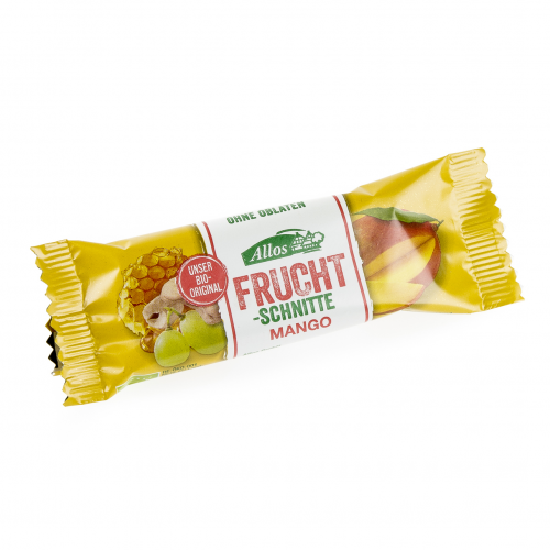 Fruchtschnitte Mango Schnitte 30 g - Allos