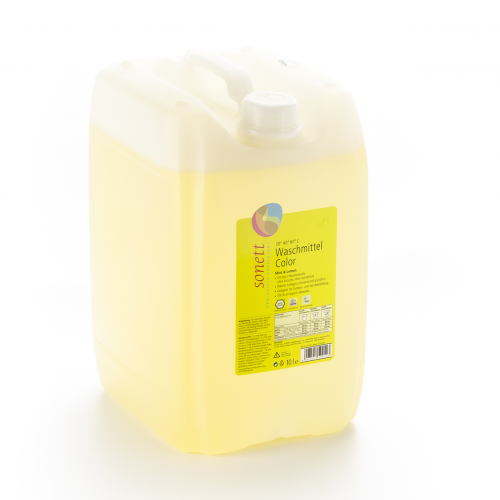Waschmittel Color 30° 40° 60°C Mint Lemon flüssig Bidon 10 l  - Sonett