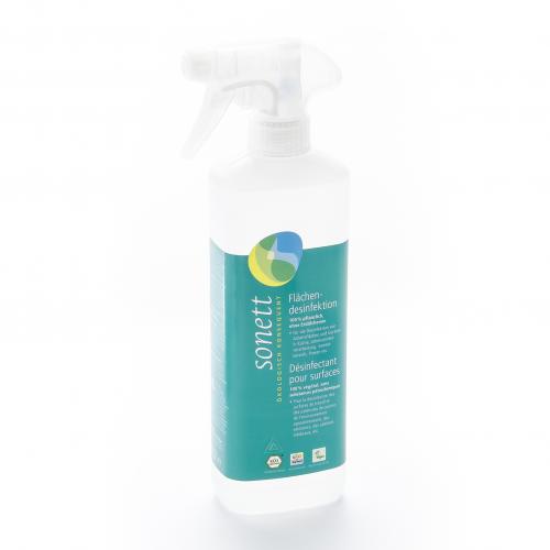 Flächendesinfektion, Spray Flasche 500 ml/Plastik Einweg - Sonett