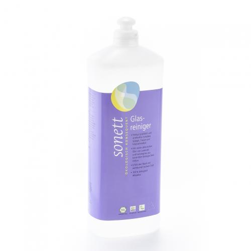 Glasreiniger, Nachfüllflasche Flasche 1 l/Plastik Einweg - Sonett