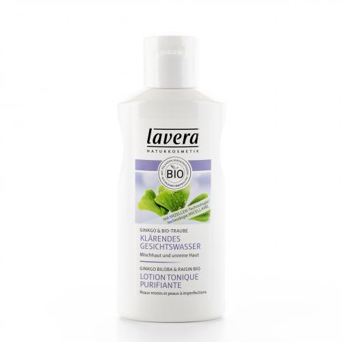Klärendes Gesichtswasser Flasche 125 ml/Plastik Einweg - Lavera