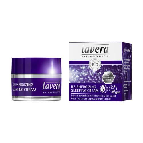 Re-Energizing Sleeping Cream Tiegel 50 ml - Lavera