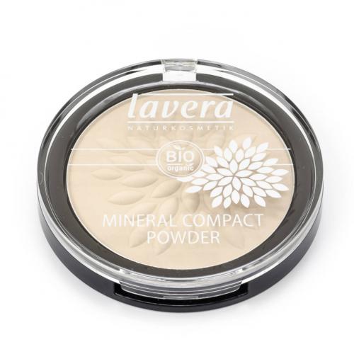 Mineral Compact Powder -Ivory 01- Dose 7 g - Lavera