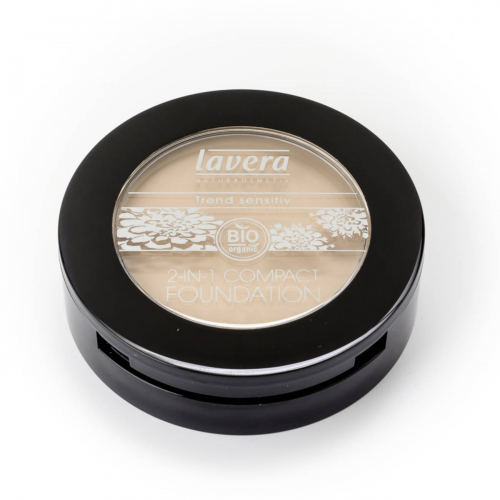 2in1 Compact Foundation -Ivory 01- Dose 10 g - Lavera