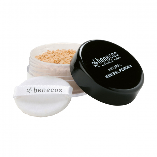 Mineral Powder light sand Tiegel 10 g - benecos