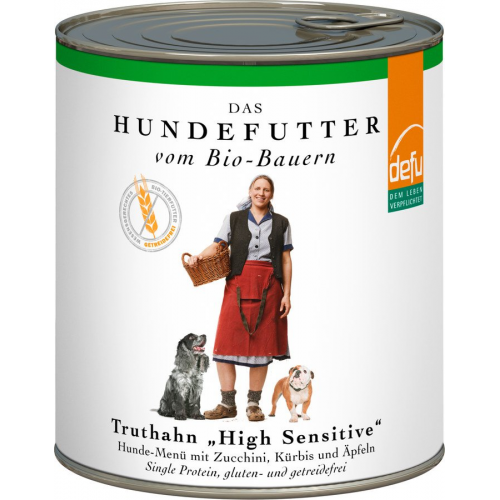 Bio High Sensitive Alleinfutter nass Truthahn 820g
