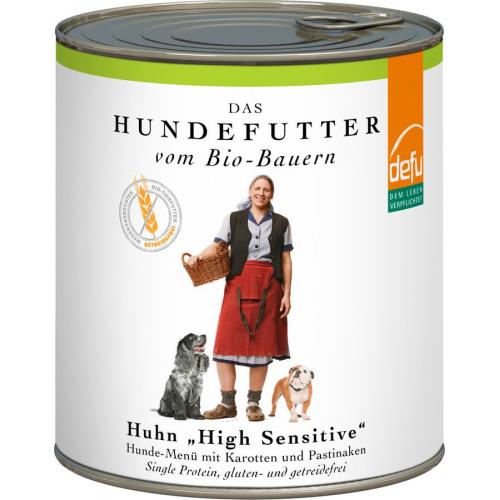 Bio Premium Alleinfutter nass Huhn 820g