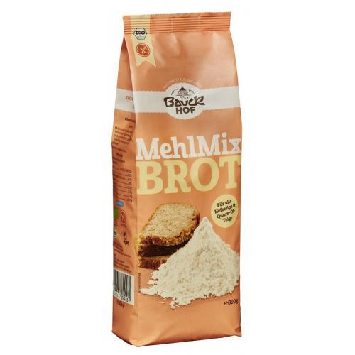 Bio Mehlmix Brot glutenfrei Bauck