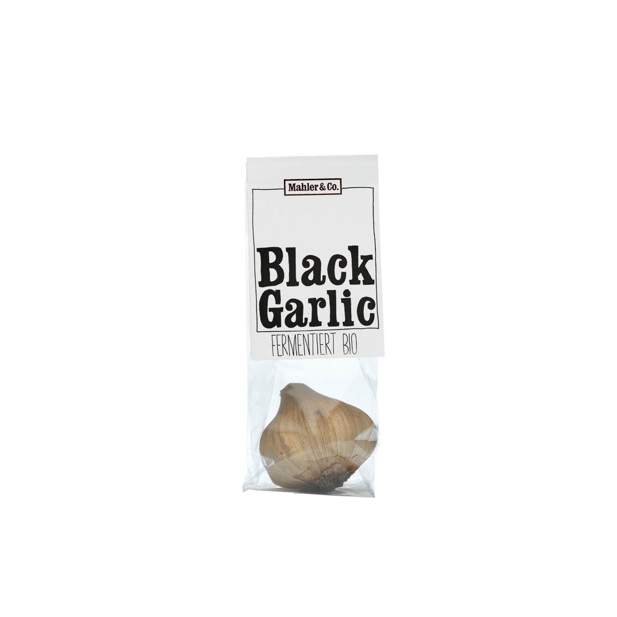 Black Garlic, Knoblauch fermentiert 1 Stk