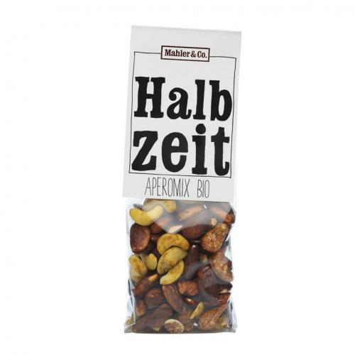 Bio Halbzeit Aperomix Cashews Mandeln