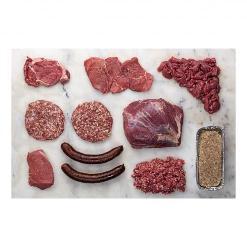 BIO BOX Büffel Fleisch, Wurst 5kg