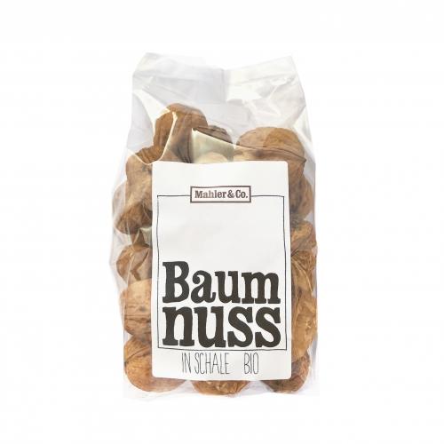 Bio Baumnüsse in Schale