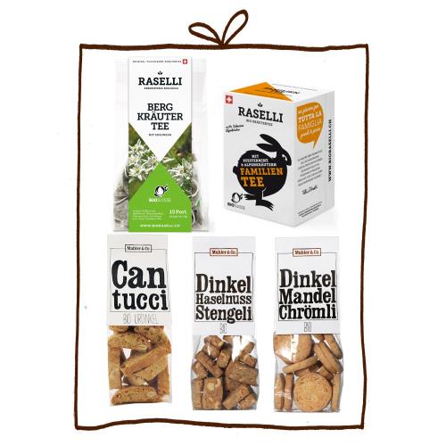 Biscuits & Tee Bio-Geschenkset