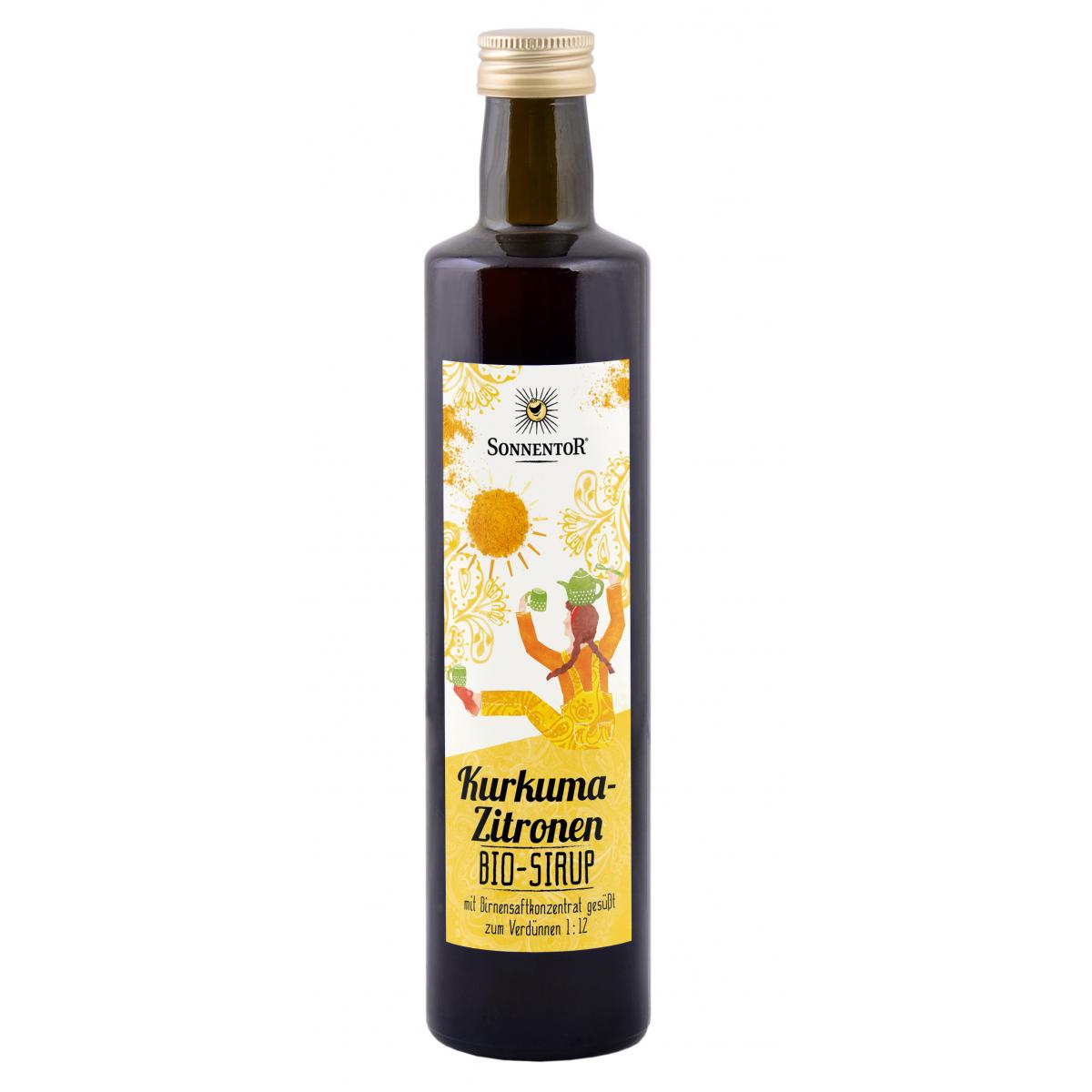 Kurkuma-Zitronen Sirup