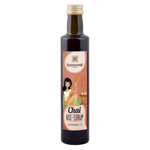 Chai-Sirup für Chai Latte
