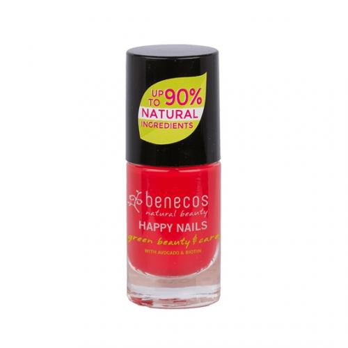 Nail Polish hot summer Flasche 9 ml/Glas Einweg - benecos
