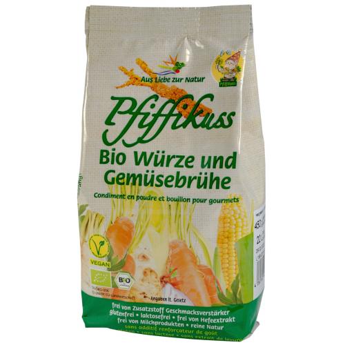 Bio Bouillon & Würze Pfiffikuss 450g