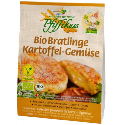 Bratling Kartoffel-Gemüse glutenfrei