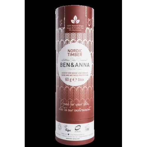 Deo Nordic Timber, Soda-Deodorant